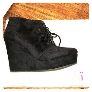 SHI wedge heels by Journeys
